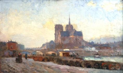 albert-lebourg-hst-le-chevet-de-notre-dame-paris-1892-impressionniste-paris-zigzag